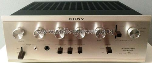 Integrated Amplifier TA-1120A; Sony Corporation; (ID = 2484587) Ampl/Mixer