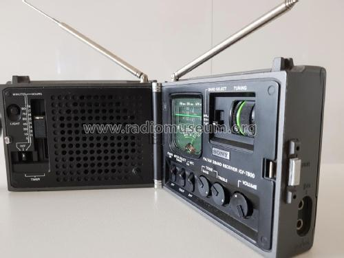 Newscaster ICF-7800; Sony Corporation; (ID = 2250028) Radio