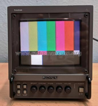 Color Video Monitor PVM-6041 QM Ch= SCC-F09D-A; Sony Corporation; (ID = 2348479) Television