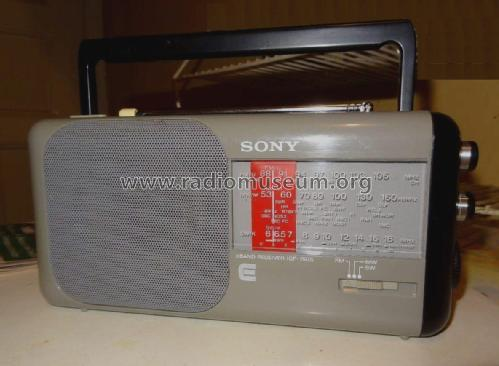 3 Band Recevier ICF-750S; Sony Corporation; (ID = 2094250) Radio