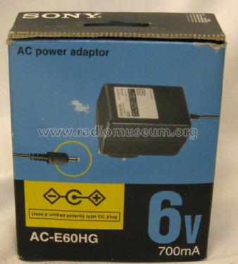 AC Power Adaptor AC-E60HG; Sony Corporation; (ID = 1733684) Aliment.