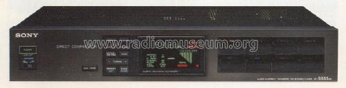 Audio Current Transfer FM Stereo Tuner ST-S555ES; Sony Corporation; (ID = 1318954) Radio