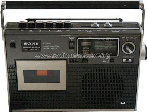 Cassette-Corder 4 Bands CF-420L; Sony Corporation; (ID = 659988) Radio