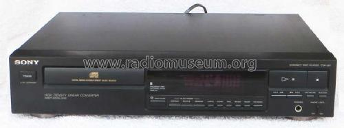 Compact-Disc-Player CDP-397; Sony Corporation; (ID = 1885858) R-Player