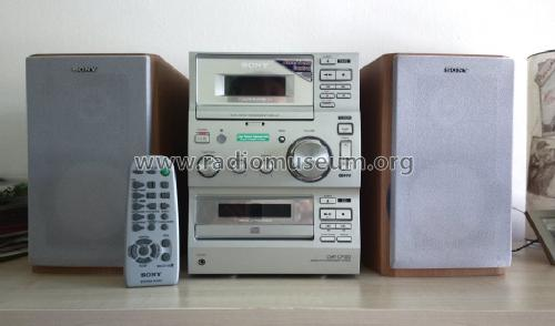 Compact Disc Deck Receiver CMT-CP100; Sony Corporation; (ID = 1475118) Radio