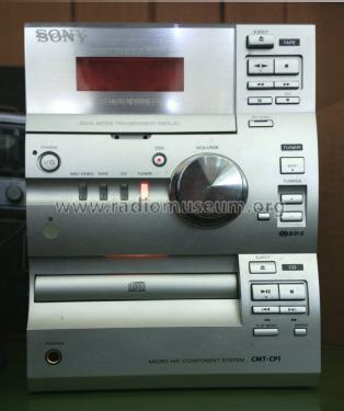 Compact Disc Deck Receiver CMT-CP1; Sony Corporation; (ID = 1475139) Radio