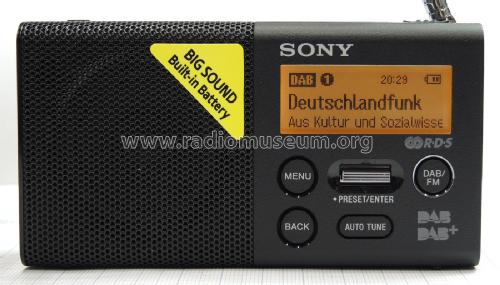 Digital Radio DAB/FM XDR-P1DBP; Sony Corporation; (ID = 1945103) Radio