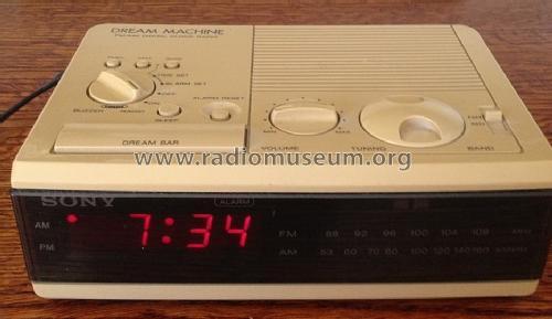 Dream Machine Fm Am Digital Clock Radio Radio Sony Corporati