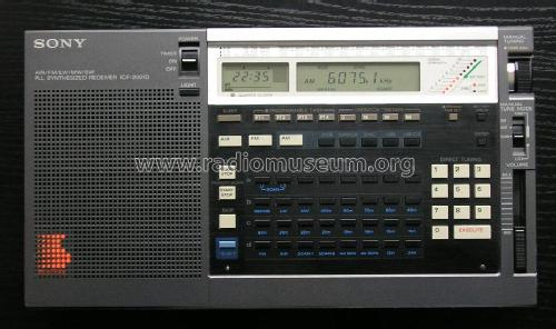 PLL Synthesized Receiver ICF-2001D; Sony Corporation; (ID = 85415) Radio