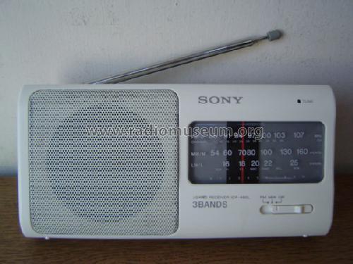 Icf 480l Radio Sony Tokyo Build 1991 6 Pictures 9 Schema