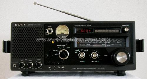 FM/SW/MW/LW Multi Band Receiver ICF-6700L; Sony Corporation; (ID = 89570) Radio