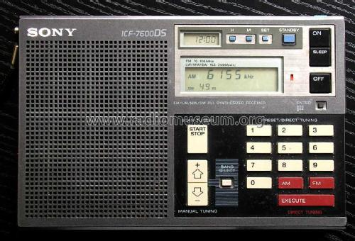 ICF-7600DS; Sony Corporation; (ID = 86155) Radio