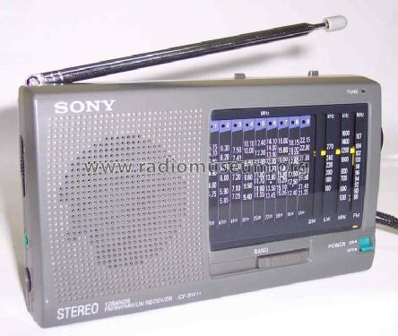 Stereo 12 Bands ICF-SW11; Sony Corporation; (ID = 400837) Radio