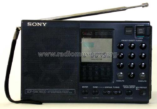 ICF-SW7600; Sony Corporation; (ID = 110869) Radio