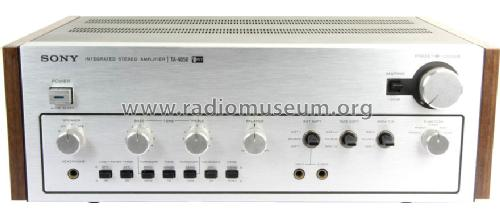 Integrated Stereo Amplifier TA-4650; Sony Corporation; (ID = 1609980) Ampl/Mixer