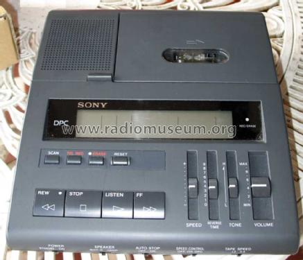 Micro Cassette Dictator / Transcriber BM-890T; Sony Corporation; (ID = 1048973) R-Player
