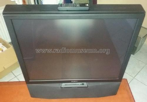 Projection TV KP-41S4; Sony Corporation; (ID = 1830081) Television