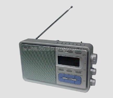 RDS Portable Radio ICF-M60LRDS Radio Sony Corporation;