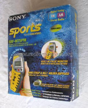 Sports Walkman SRF-M75PM; Sony Corporation; (ID = 1299459) Radio