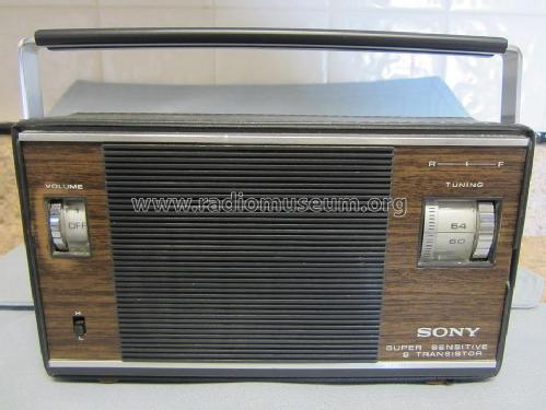 Super Sensitive 9 Transistor 6R-33; Sony Corporation; (ID = 1441063) Radio