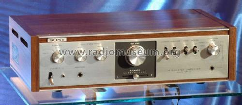 Integrated Amplifier Solid State TA-1010; Sony Corporation; (ID = 1010759) Ampl/Mixer