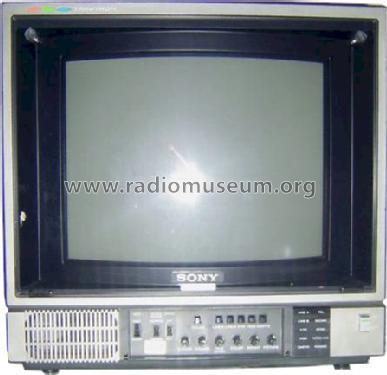 trinitron color video monitor pvm 1371qm sony corporation id 695611