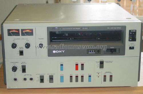Vintage Umatic VCR. The Sony VP1100, Sony VP1000, Sony VO1600 ...