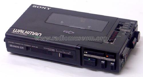 Walkman Professional WM-D6; Sony Corporation; (ID = 512858) R-Player