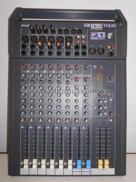 Goede Spirit Folio F1 Fader 100 - 14/2 RW5446 Ampl/Mixer Soundcraf CO-28