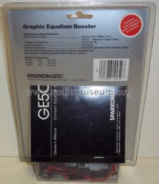 graphic equalizer booster ge50 ampl mixer sparkomatic rh radiomuseum org Dodge Truck Wiring Diagram sparkomatic wiring diagram