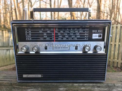Aircastle 15 Transistor FM-AM 5 Band 136F1; Spiegel Inc. (ID = 2343093) Radio