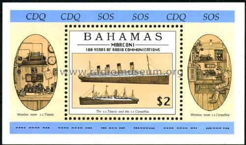 Stamps - Briefmarken Bahamas; Stamps - Briefmarken (ID = 533321) Misc