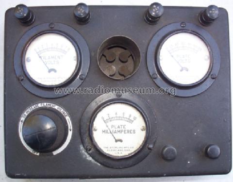 Tube Tester R-402 Equipment Sterling Manuf  Co