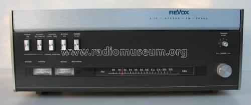 looking for a clean Revox a76 MkIII tuner