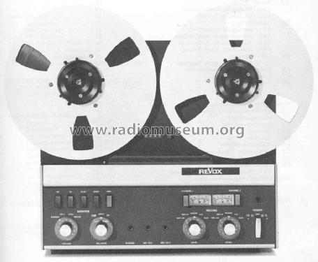 Revox A77 Mk II CS; Studer GmbH, Willi (ID = 46707) R-Player