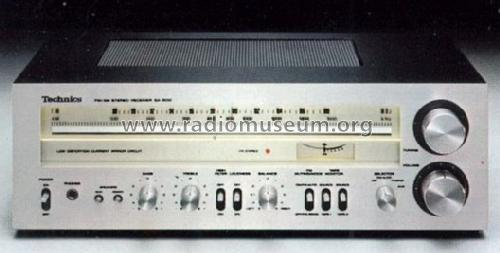am fm stereo receiver sa 300 radio technics brand build rh radiomuseum org