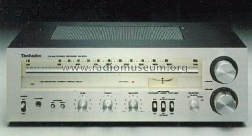 FM/AM Stereo Receiver SA-200; Technics brand (ID = 661131) Radio