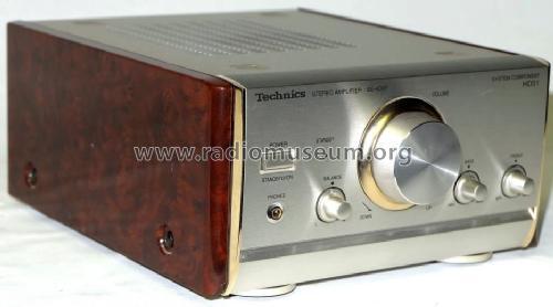 stereo amplifier se hd51eg n ampl mixer technics brand. Black Bedroom Furniture Sets. Home Design Ideas