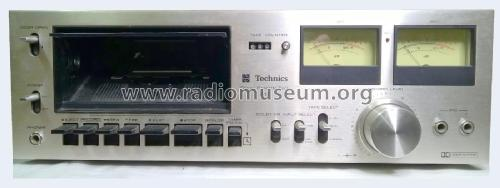 Stereo Cassette Deck RS-615US; Technics brand (ID = 2364401) R-Player