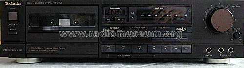 Stereo Cassette Deck RS-B505; Technics brand (ID = 1297758) R-Player