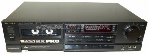 Stereo Cassette Deck RS-B605; Technics brand (ID = 1836099) R-Player