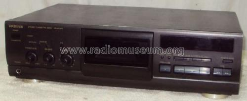 Stereo Cassette Deck RS-BX501; Technics brand (ID = 1236881) R-Player