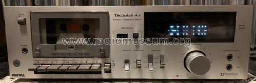 Stereo Cassette Deck RS-M12; Technics brand (ID = 2446011) R-Player