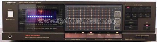 Stereo Graphic Equalizer SH-8066 Ampl/Mixer Technics brand