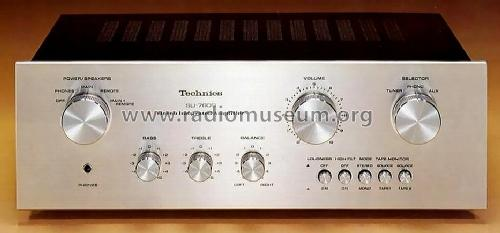 Stereo Integrated Amplifier SU-7600; Technics brand (ID = 664727) Ampl/Mixer
