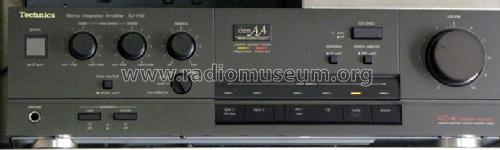 Stereo Integrated Amplifier SU-V50; Technics brand (ID = 823910) Ampl/Mixer