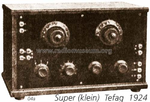 Super ; Tefag; Telephon (ID = 1044) Radio