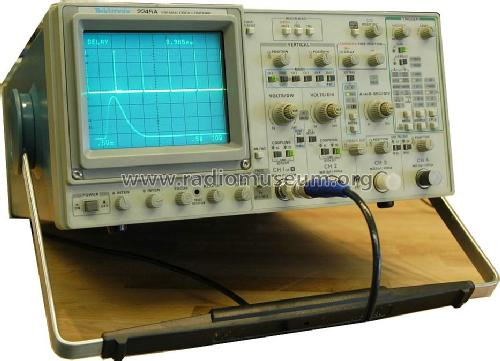 Tektronix Analog Oscilloscope : Mhz analog oscilloscope a equipment tektronix portla