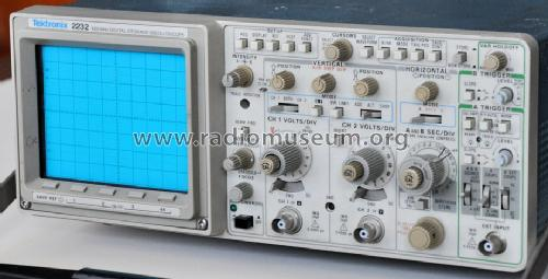 Tektronix Analog Oscilloscope : Analog digital oscilloscope equipment tektronix portla