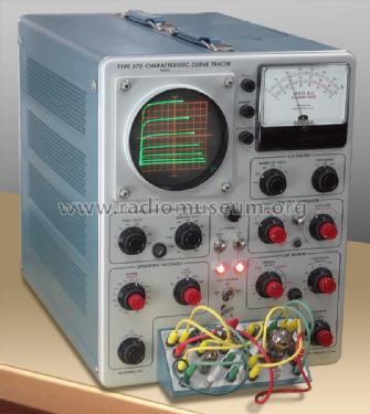Electron Tube Curve Tracer 570; Tektronix; Portland, (ID = 1763904) Equipment